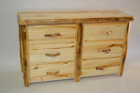 Aspen 6 Drawer Dresser Rustic Furniture Mall By Timber Creek