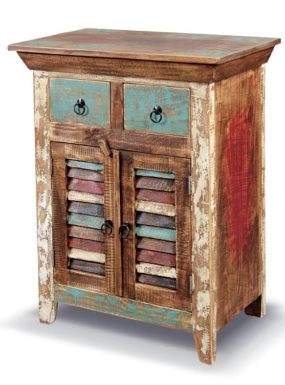 bombay shuttered storage cabinet rustic furniture mall