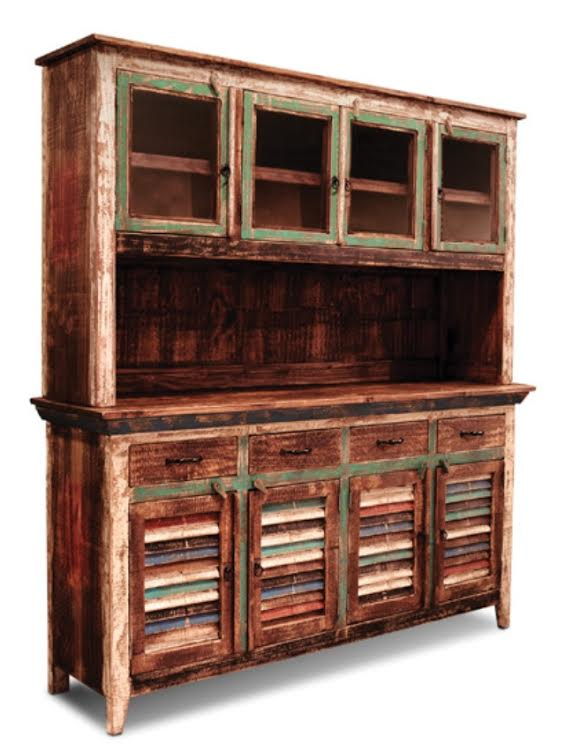 Bombay Hand Painted Server Hutch