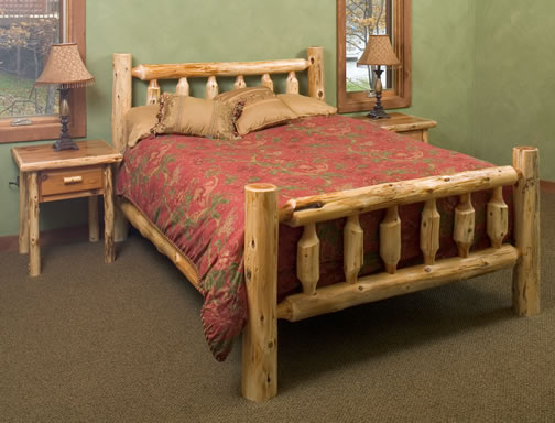 Timberland Bed Rustic Furniture Mall By Timber Creek