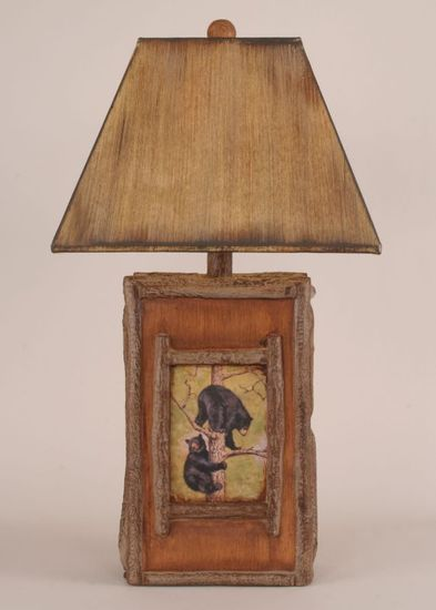 Bear Cubs Table Lamp Rustic Furniture Mall By Timber Creek