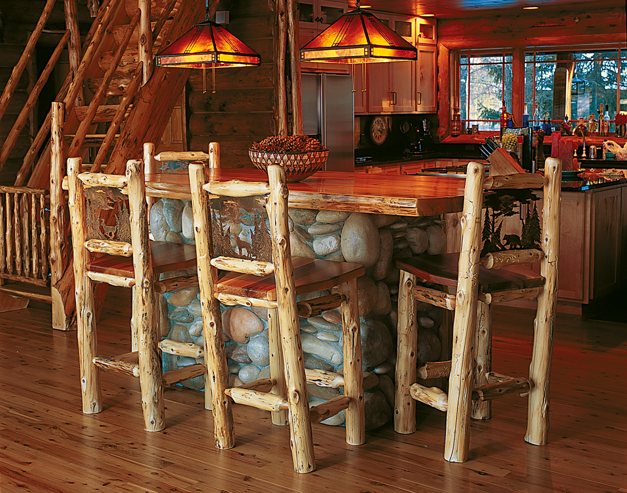 Bar Stools Rustic Furniture Mall By Timber Creek