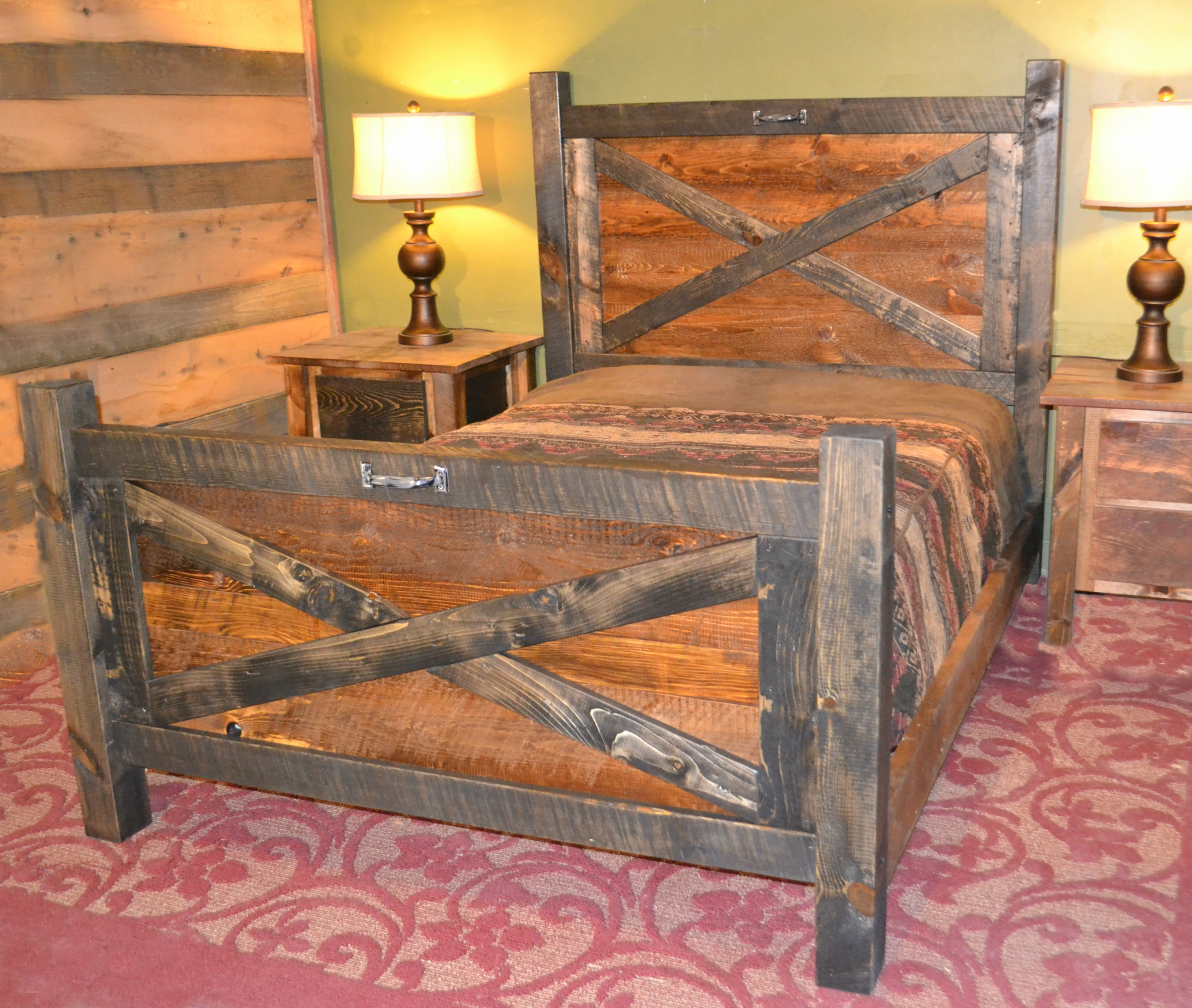 Barn Door Bed Rustic Furniture Mall By Timber Creek