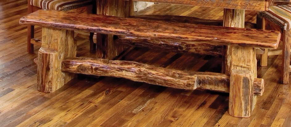 Rocky Mountain Reclaimed Bench Rustic Furniture Mall By