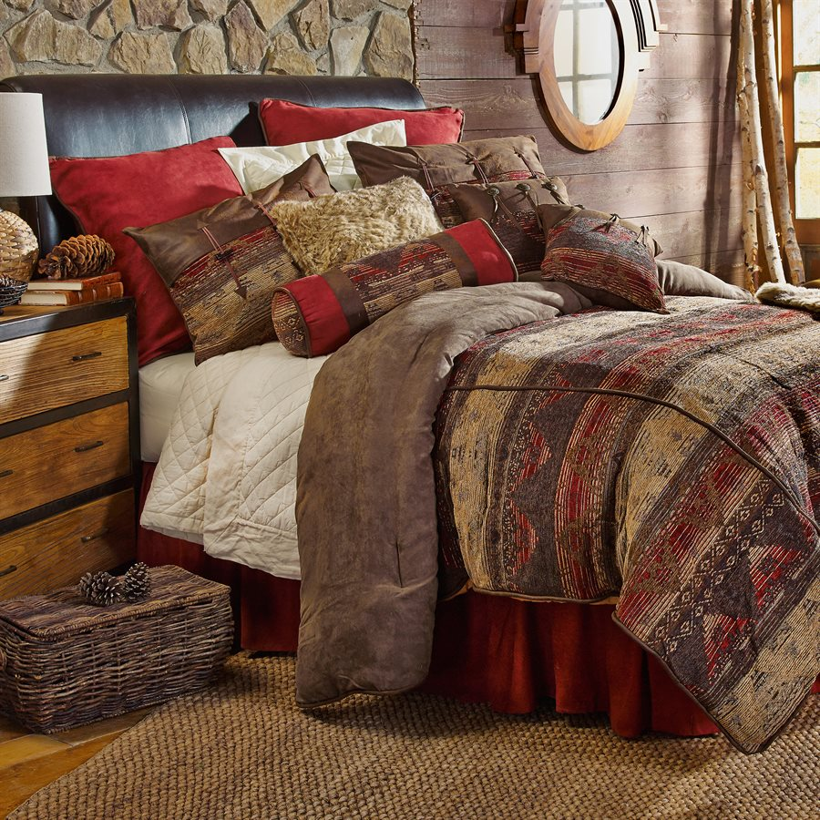 Sierra Comforter Set Rustic Furniture Mall By Timber Creek