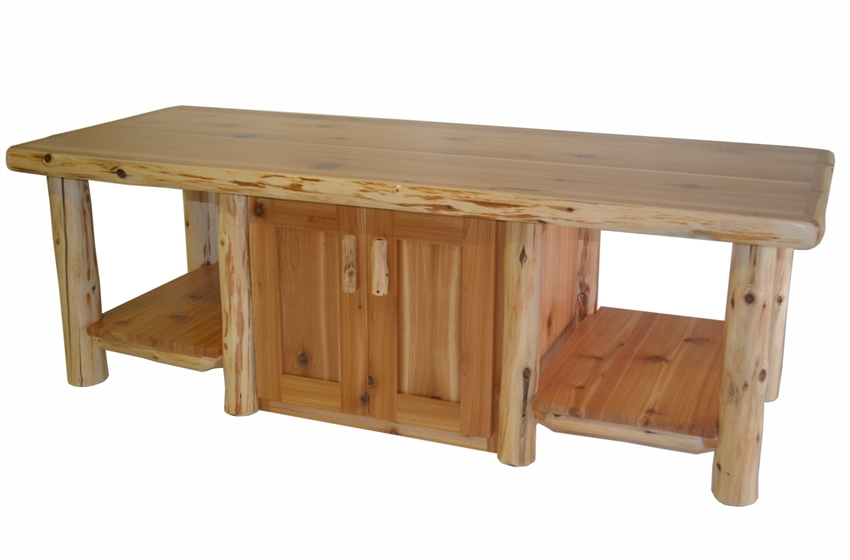 Timberland 2 Door Cabinet Coffee Table Tv Console Rustic Furniture Mall By Timber Creek
