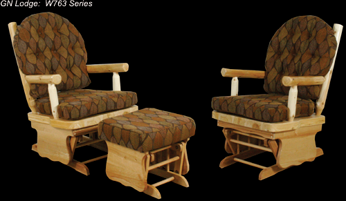 Great Northern Log Glider Rocker