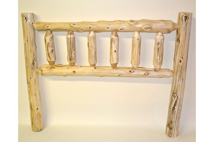 Cedar Log Bed Kits Headboard Only Click