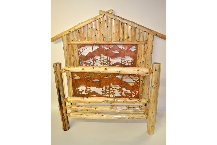 paul bunyan a frame bed rustic furniture mall by timber