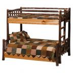 Cottage Hickory Bunkbed