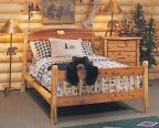Timberland Cutout Bed