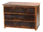 Teton Reclaimed Barnwood 3-drawer Dresser
