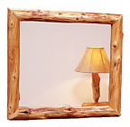 Logger Wall Mirror Frame