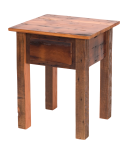 Teton Barnwood 1-drawer Nightstand/End Table