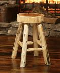 Lumberjack Bar Stool