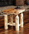 Logger End Table