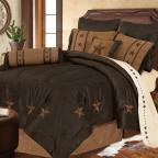 Laredo - Chocolate Comforter set
