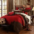 Red Rodeo Comforter Set