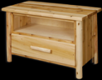 Great Northern Log TV Stand