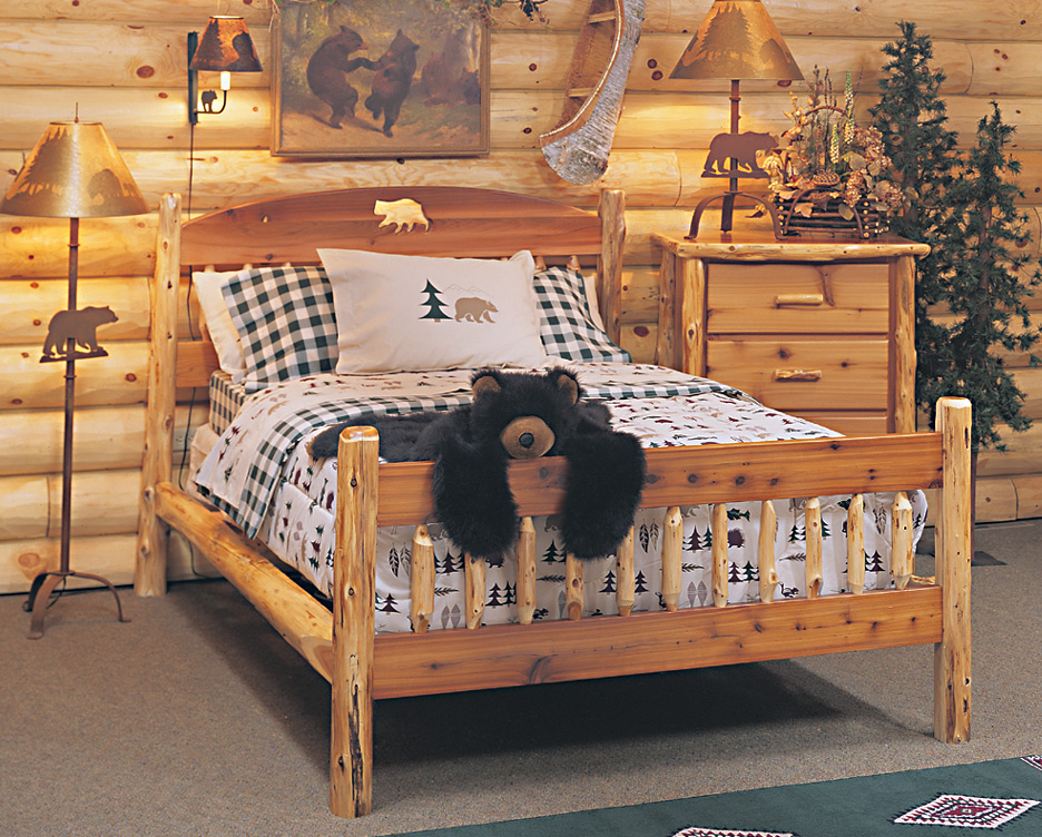 Timberland Cutout Bed Rustic Furniture Mall By Timber Creek