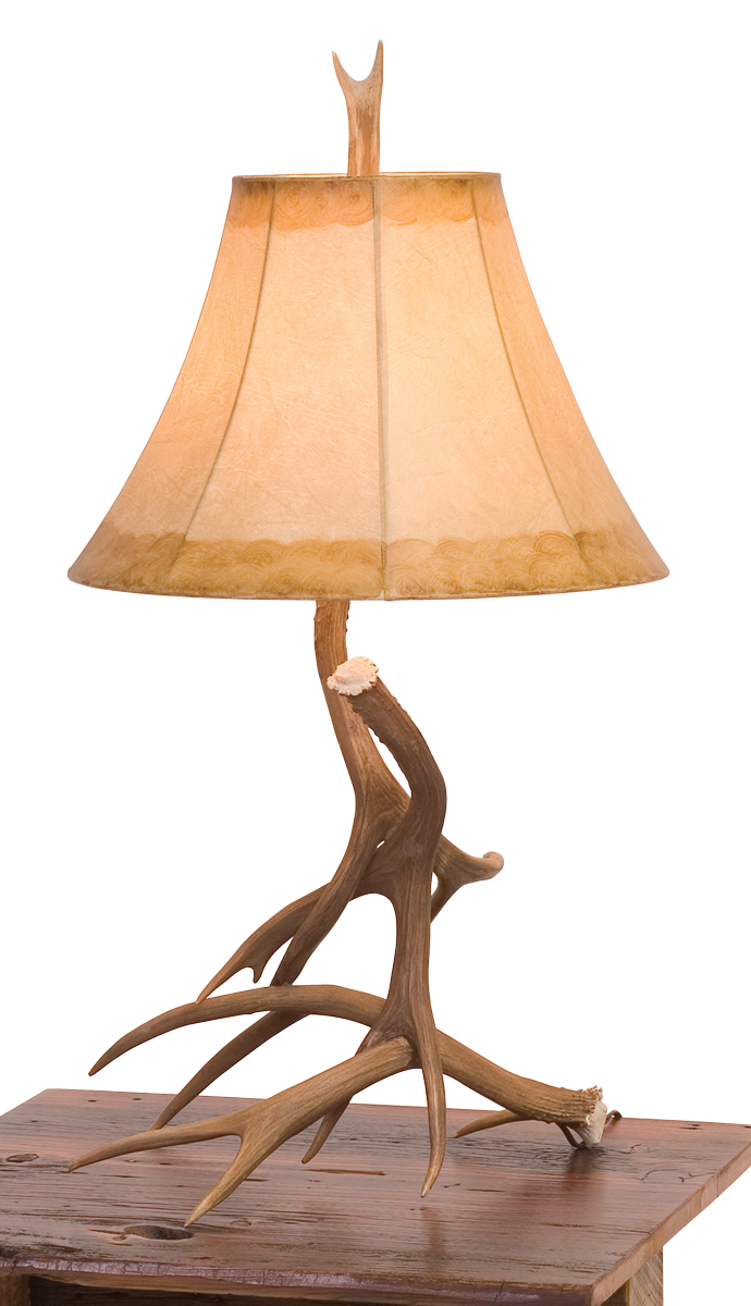 Antler Table Lamp Rustic Furniture Mall by Timber Creek : LGR16 AntlerLamp0 from www.rusticfurnituremall.com size 690 x 1200 png 803kB